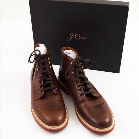 J. Crew Other - J. Crew Men's Kenton Leather Plain Toe Boots Sz 10